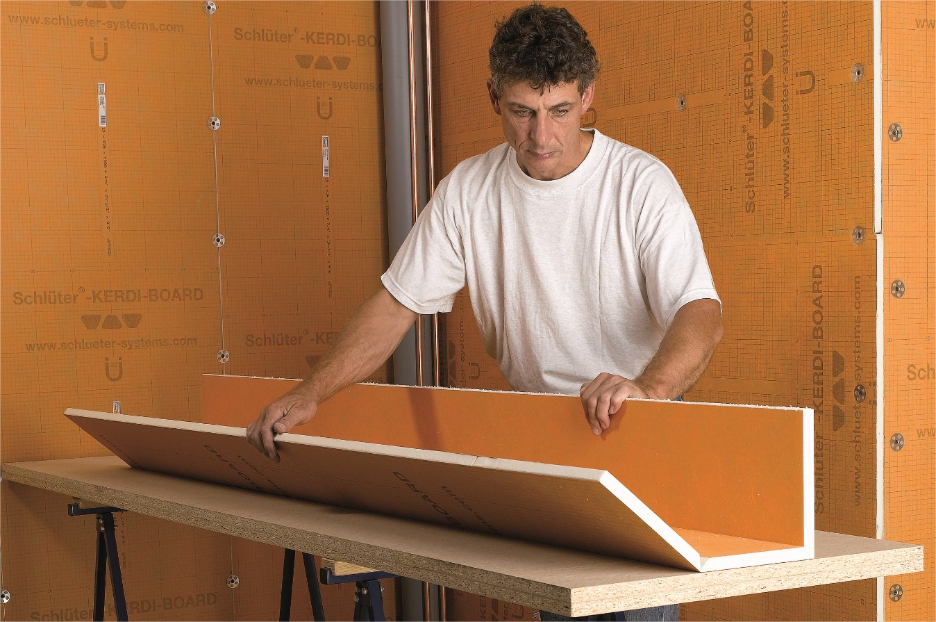 panneaux carreler murs et sols kerdi board schl ter systems. Black Bedroom Furniture Sets. Home Design Ideas