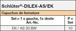 Schlüter®-DILEX-AS/EK