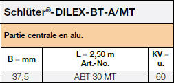 Schlüter®-DILEX-BT/MT