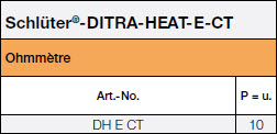 <a name='ct'></a>Schlüter®-DITRA-HEAT-E-CT