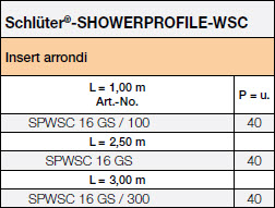 Schlüter®-SHOWERPROFILE-WSC